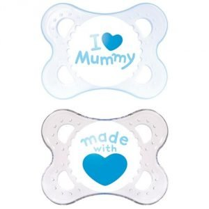 Mam Style Soother 0+m Blue Pack of 2