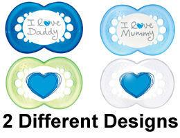 Mam Style Soother 6+m Boy Pack of 2