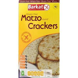 Barkat Gluten Free Round Matzo Crackers 200g