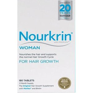 Nourkrin Woman (Previously Extra Strength) Starter Pack 180 Tablets