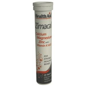 HealthAid Zimacal Effervescent Tablets Pack of 20