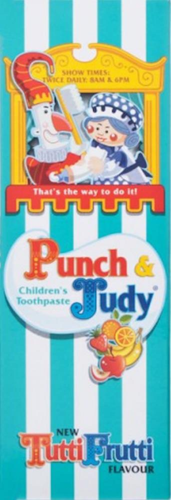 Punch & Judy Childrens Tutti Frutti Toothpaste 50ml