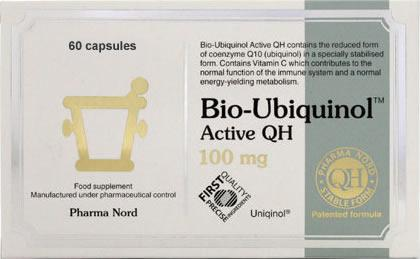 Pharma Nord Bio Ubiquinol Active QH 100mg Capsules Pack of 60