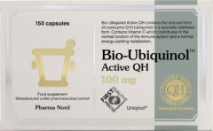 Bio Ubiquinol Active QH 100mg Capsules Pack of 150