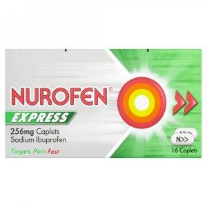Nurofen Express Caplets Pack of 16