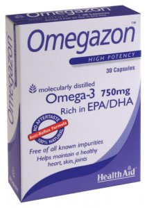 HealthAid Omegazon 750mg Capsules Pack of 30