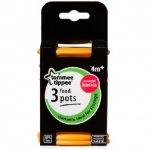 Tommee Tippee Food Pots Orange Pack of 3