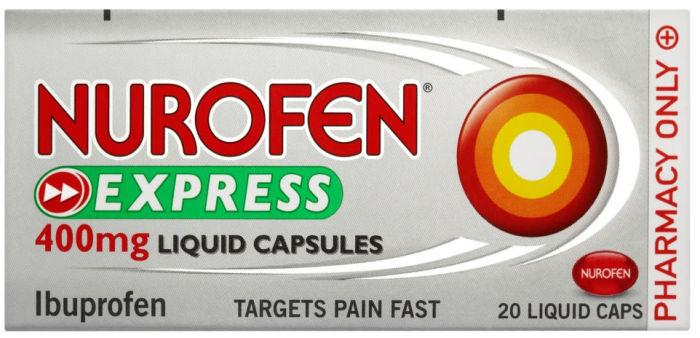 Nurofen Express Liquid Capsules Pack of 20