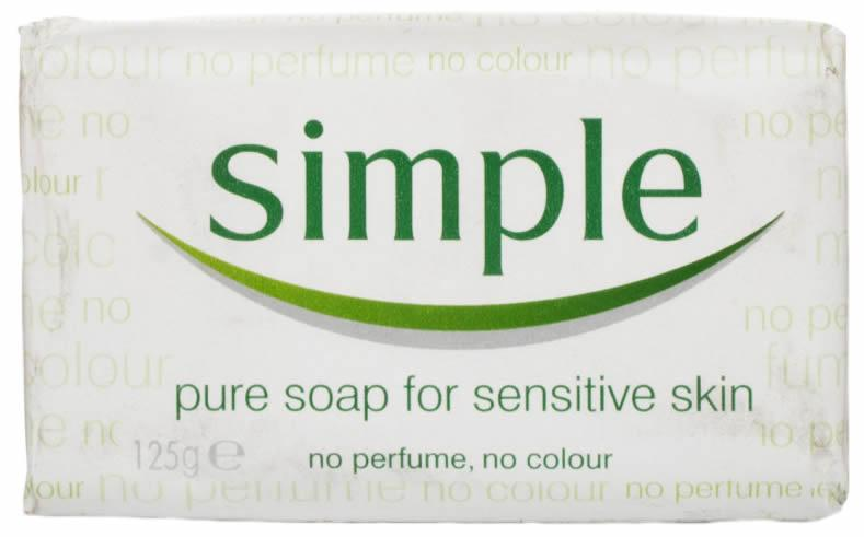 Simple Pure Bath Soap 125g