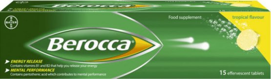 Berocca Effervescent Tropical Pack of 15