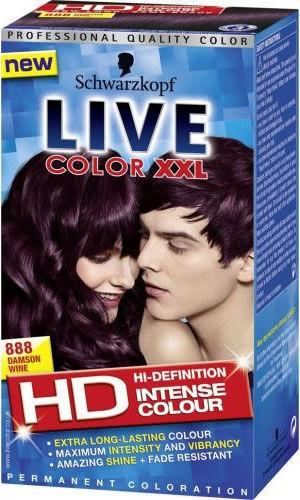 Schwarzkopf Live Colour XXL Damson Wine 888