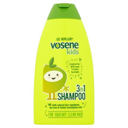 Vosene Kids 3-in-1 Headlice Shampoo & Conditioner 250ml