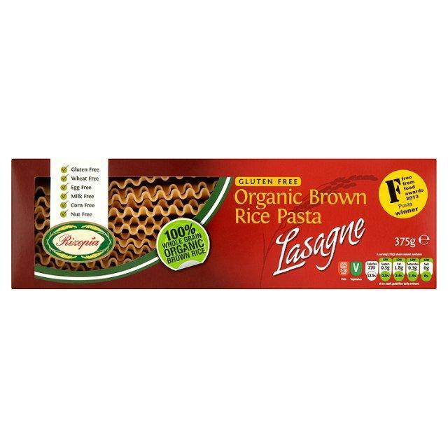 Rizopia Gluten Free Pasta Lasagne 375g