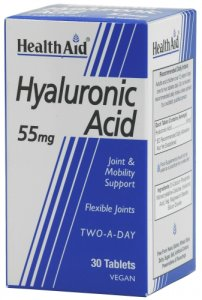 HealthAid Hyalluronic Acid 55mg Tablets Pack of 30