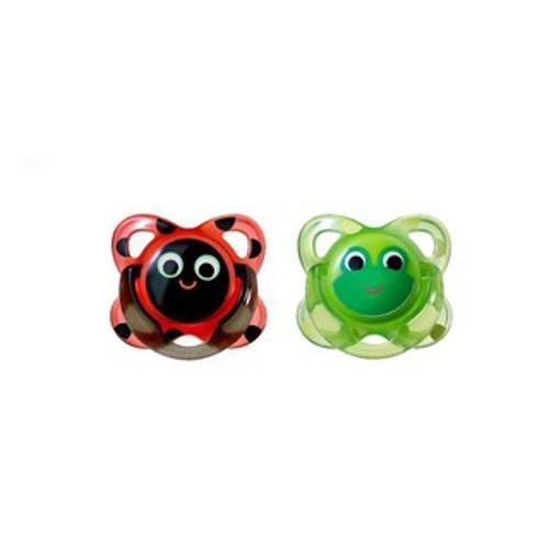 Tommee Tippee Funky Face Soothers Pack of 2