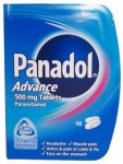 Panadol Advance 500mg Tablets Pack of 16