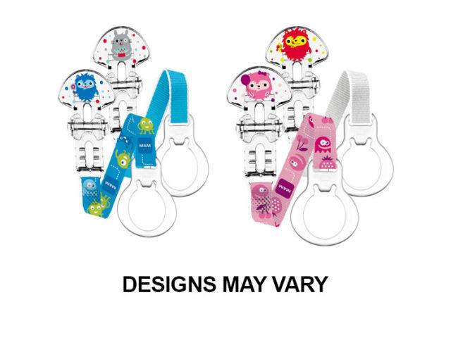 Mam Soother Clip Pack of 2