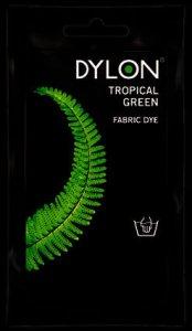 Dylon Hand Dye Sachet Tropical Green 50g