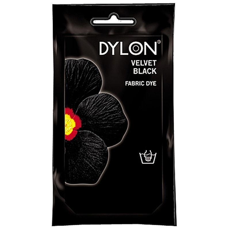 Dylon Hand Dye Sachet Velvet Black 50g