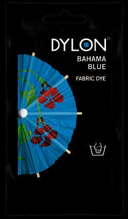 Dylon Hand Dye Sachet Bahama Blue 50g