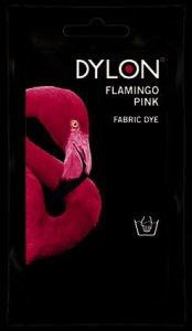 Dylon Hand Dye Sachet Flamingo Pink 50g