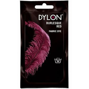 Dylon Hand Dye Sachet Burlesque Red 50g