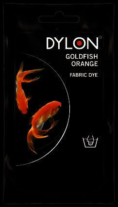 Dylon Hand Dye Sachet Goldfish Orange 50g