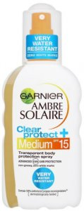 Garnier Ambre Solaire Clear Protect Sun Spray SPF15 200ml