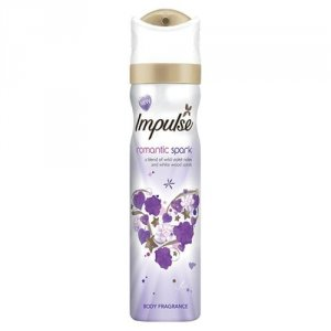Impulse Body Fragrance Romantic Spark 75ml