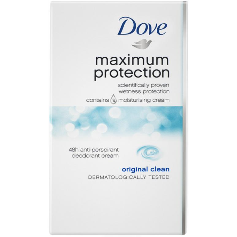Dove Maximum Protection Original Clean Deodorant 45ml