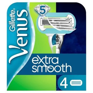 Gillette Venus Extra Smooth Razor Blades For Women Pack of 4