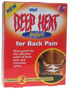 Deep Heat Patch - Back Pack of 2
