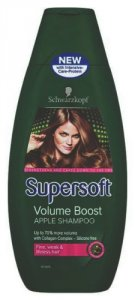 Supersoft Volume Boost Apple Shampoo 400ml
