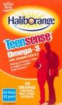 Haliborange Teensense Omega 3 Chewable Pack of 30 x 3