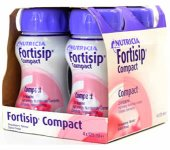 Fortisip Compact Strawberry 125ml Pack of 4