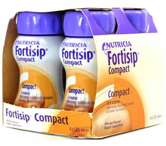 Fortisip Compact Mocha 125ml Pack of 4