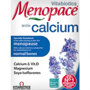 Menopace Calcium Tablets Pack of 60