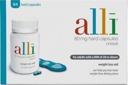 Alli Capsules 60mg (3 x Pack of 84)