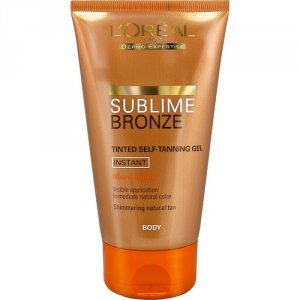 L'Oreal Sublime Bronze Self Tan Tinted Gel Medium 150ml