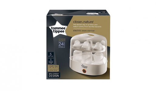 Tommee Tippee Closer To Nature Electric Steam Steriliser (pp Btls)