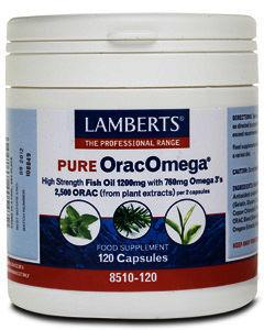 Lamberts Oracomega Capsules Pack of 120