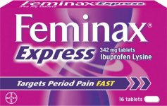 Feminax Express Tablets 342mg Pack of 16