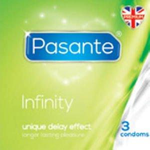 Pasante Infinity Condoms Pack of 3