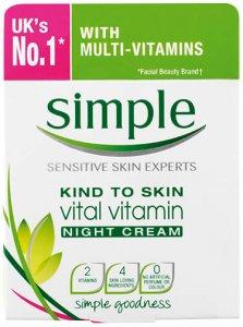 Simple Kind To Skin Vital Vitamin Night Cream 50ml