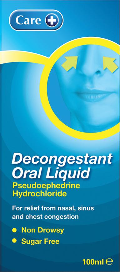 Care Decongestant Oral Liquid 100ml
