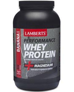 Lamberts Performance Whey Protein Banana Flavoured