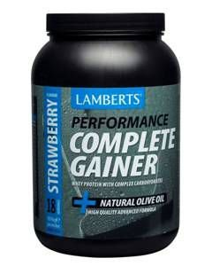 Lamberts Performance Complete Gainer Strawberry Flavour