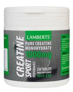 Lamberts Performance Creatine Tablets Pack of 250