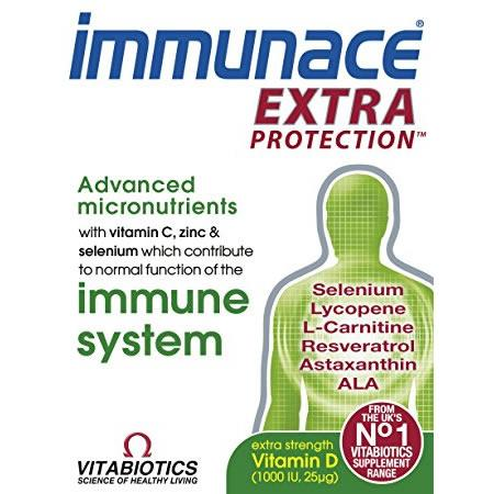 Immunace Extra Protection Tablets Pack of 30