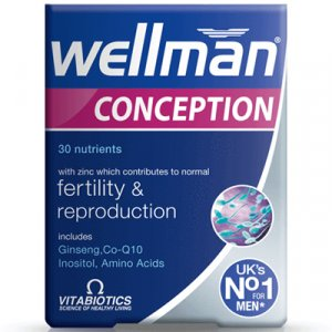 Wellman Conception Tablets Pack of 30